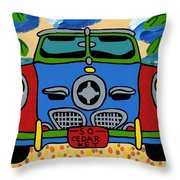 Beach Studebaker Throw Pillow