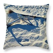 Beach Treasures Throw Pillow