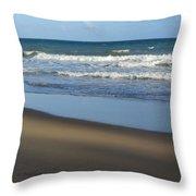 Beach Waves 1 Throw Pillow