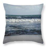 Beach Waves 2 Throw Pillow