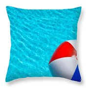 Beachball 1 Throw Pillow