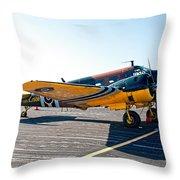 Beachcraft - Bucket-o-bolts Throw Pillow