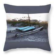 Beached Throw Pillow