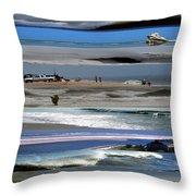 Beaches Throw Pillow