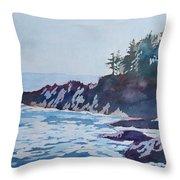 Beachhead Throw Pillow