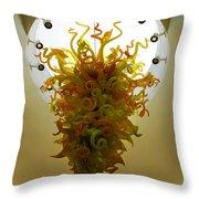Beacon Gold Chandelier Throw Pillow