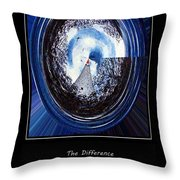 Beacon Of Hope - Serenity Prayer Throw Pillow