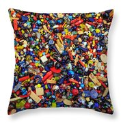 Beads N Things Throw Pillow