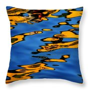 Beagles At Play Throw Pillow