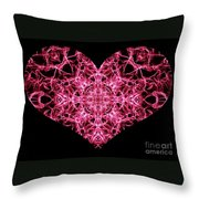 Beaming Heart Throw Pillow
