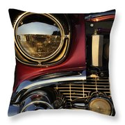 Beaming Throw Pillow by Luke Moore