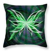 Beams Of Envy Throw Pillow