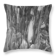 Beams Of Reality Throw Pillow