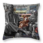 Bear And His Mentors Walt Disney World 07 Throw Pillow