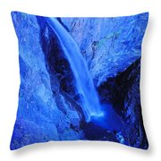 Bear Creek Falls Clolorado Throw Pillow