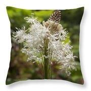 Bear Grass No 2 Throw Pillow