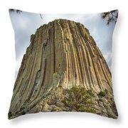 Bear Lodge National Historic Landmark Throw Pillow