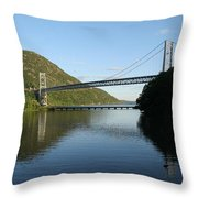 Bear Mountain Bridge Throw Pillow