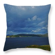 Beara Peninsula West Kerry - On The Road To Lauragh Throw Pillow