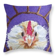 Bearded Nugget Throw Pillow