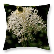 Beargrass Bloom Throw Pillow