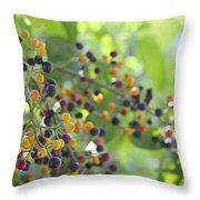 Bearing Good Fruit Throw Pillow