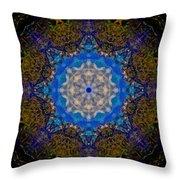 Beartooth Pass Kaleidoscope Throw Pillow