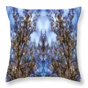 Beast In The Sacred Forest Throw Pillow