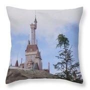 Beast's Castle Throw Pillow