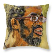 Beat Keep II Throw Pillow