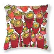 Beating Of The Drum Throw Pillow