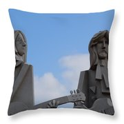 Beatles Throw Pillow