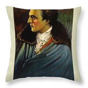 Beau Brummel  Throw Pillow