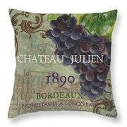 Beaujolais Nouveau 2 Throw Pillow