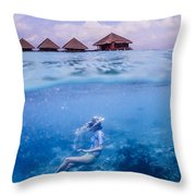 Beautiful Above And Below 2 Throw Pillow