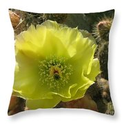 Beautiful And Barbed Throw Pillow