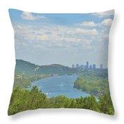 Beautiful Austin Texas Throw Pillow