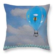 Beautiful Balloon Throw Pillow