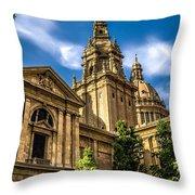 Beautiful Barcelona  Throw Pillow
