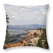 Beautiful Bryce Canyon Throw Pillow