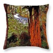 Beautiful Bush Throw Pillow
