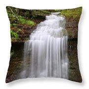 Beautiful Cascade Throw Pillow