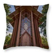 Beautiful Chapel Throw Pillow