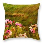 Beautiful Cosmos Throw Pillow