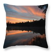 Beautiful Day's Promise Throw Pillow