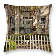 Beautiful Entryway On The Isle Of Hope Throw Pillow