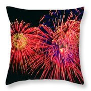 Beautiful Fireworks 14 Throw Pillow