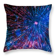 Beautiful Fireworks  2 Throw Pillow