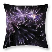 Beautiful Fireworks 7 Throw Pillow