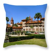 Beautiful Flagler College Throw Pillow